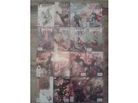 Job lot of 16 Marvel/DC comics