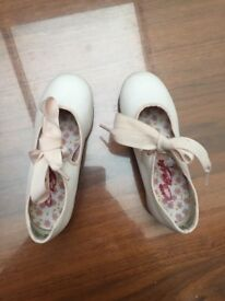 Capezio Tap Dance pink shoes size 10