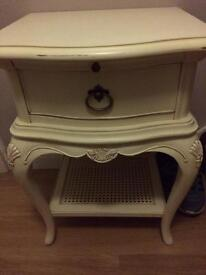Willis and Gambier Ivory bedside table
