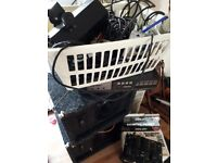 Various home disco equipment. Including x2 speakers,dj control,flight case. Plus more