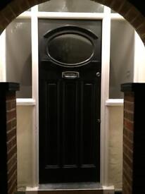 Wood street door