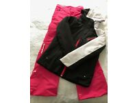 Girl's ski jacket and salopettes age 12-14