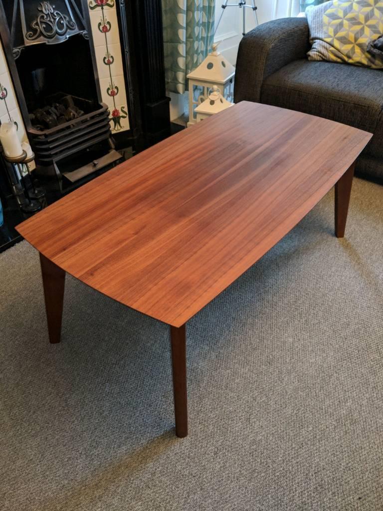 Debenhams teak coffee table