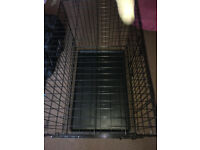 Medium Dog Cage - Black