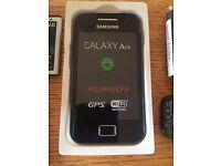 Samsung Galaxy Ace GT-S5830 - Onyx Black Smartphone Vodafone