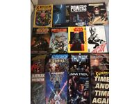 Loads of comics for sale, mainly Marvel and DC