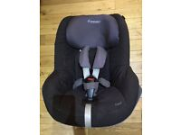 MAXI COSI PEARL GROUP 0+/1 ISOFIX CAR SEAT - SUITABLE FROM 9mths - 4 yrs. RRP £185!