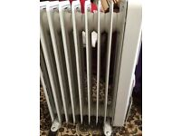 Delonghi oil filled radiator in very good condition