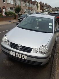Perfect First Time Car, VW POLO 2003 SILVER