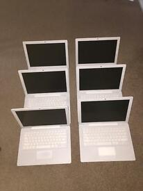 7 Apple MacBooks job lot