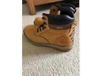 Men's Site Work Boots Steel Toecap Size 9