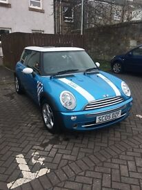 Blue Mini Cooper - John Cooper edition