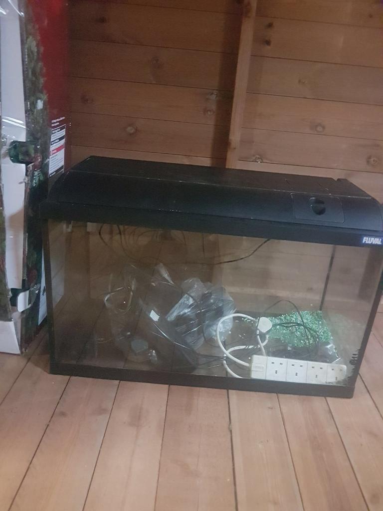 Fuval fish tank & all filters etc
