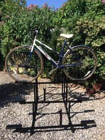 Bicycle display rack