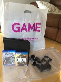 Sony PS4 1 TB Brand new with 2 games