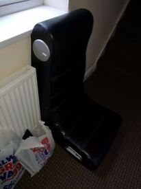selling gaming chair working can be seen good condition