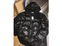 Stone island puffer coat