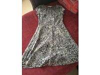 Grey sparkly dress for sale size 8