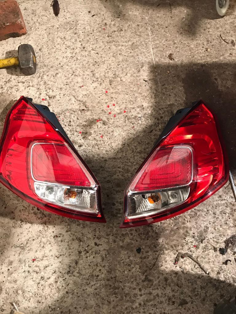 Fiesta st rear lights