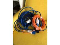 URGENT SALE caravan/lighting cables