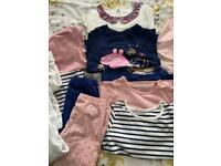 Girls mixed clothes bundle age 18-24 months.