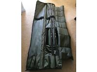 2 Chubb Outcast Carp Rods and Fox Rod Bag