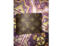 Louis Vuitton brown monogram wallet