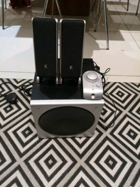 b334f6fac9a Logitech Z3 2.1 speaker | in Plymouth, Devon | Gumtree