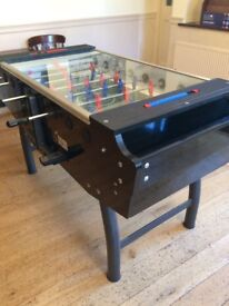 FAS Striker Football table 5ft coin operated.