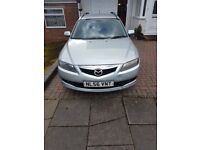 Mazda 6 Estate, Silver, Diesel, 6 Gear, Manual