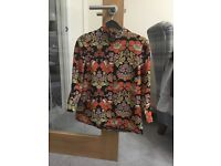 70's inspired blouse Size 6