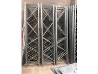 Upright & shelving ideal for shop storage