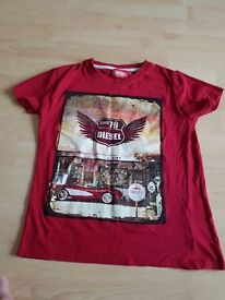 Boys Diesel T-shirt, Age 9/10