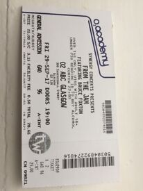 From The Jam Tickets x 2