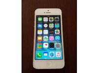iPhone 5 White 16GB Vodafone network Good Condition