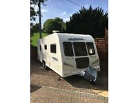 Bailey Pegasus 624 2010 Twin Axle with Truma Mover & Specialist Tailored Cover