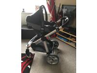 Icandy2 apple2 pear travel system