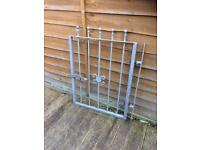 new steel garden gate ready to fit £30
