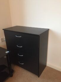 Black Bedroom Drawers