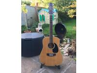 12 string acoustic guitar by Takamine