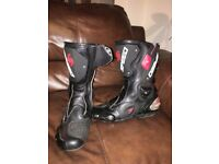 Motor Cycle Boots Size 10 Like SIDI