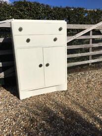Utility era chest of drawers