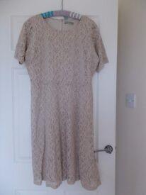 M & S Lace Dress. Size 18