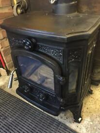Kingfire Multifuel stove log burner