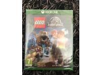 Lego Jurassic world Xbox one new sealed
