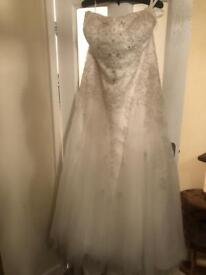 Plus Size Wedding Dress*****reduced