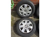 VW POLO 4 tyres with spare