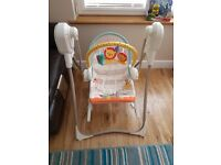 FISHER PRICE 3 IN 1 INFANT TO TODDLER SWING AND ROCKER