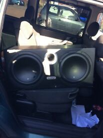 Inphase twin subs double ported box