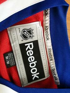 New Reebok Official Habs Canadians Jersey Medium embroidered West Island Greater Montréal image 4
